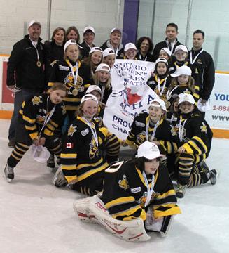 Sarnia girls hockey